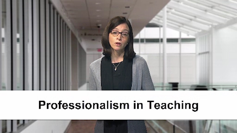 Jennifer Kogan: Professionalism in Teaching