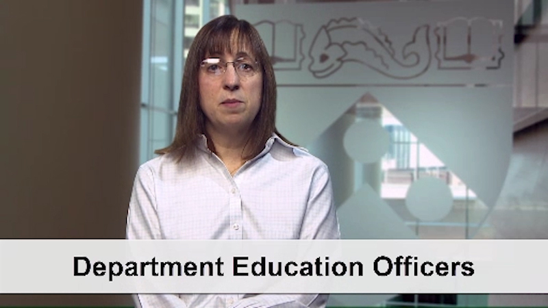 Lisa Bellini: Role of Education Officer