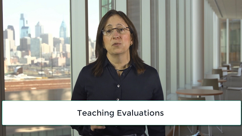 Lisa Bellini: Teaching Evaluations