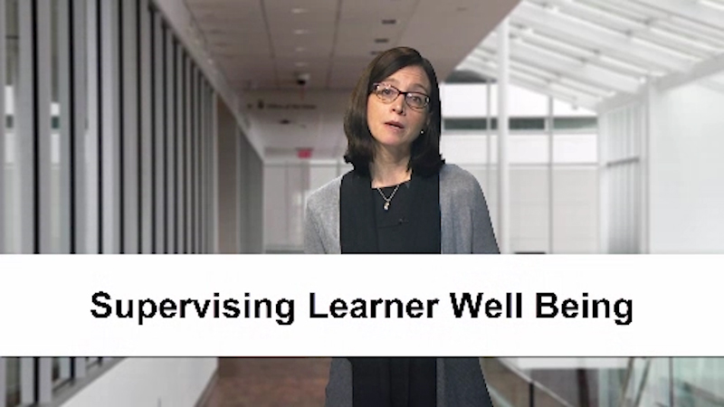 Jennifer Kogan: Supervising the Well Being of Clinical Trainees